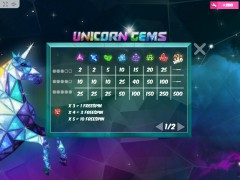 Unicorn Gems slotsgames77.com MrSlotty 3/5